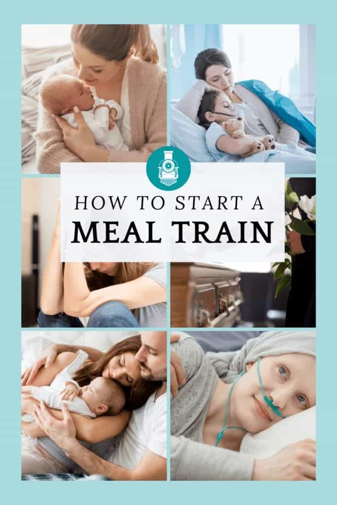 How to start a meal train showing people who need meals