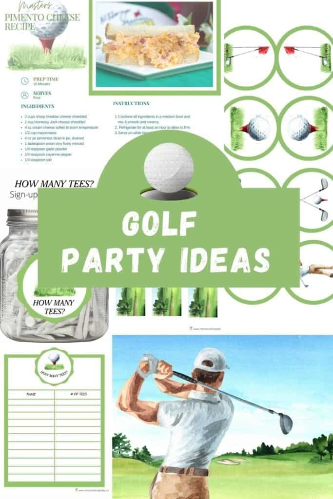 golf party ideas decorations and recipes food